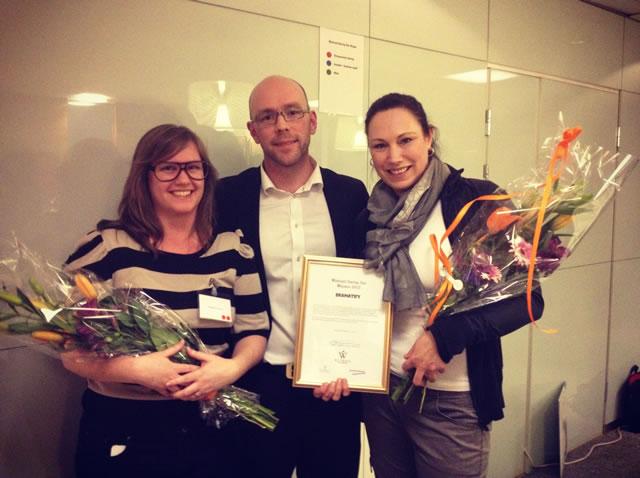 We won Wistrand Startup Star!
