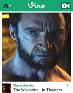 Wolverine In Vine
