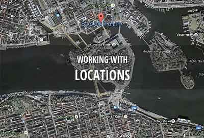 Working with locations