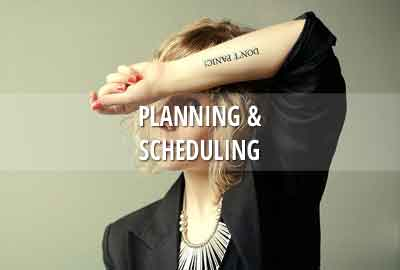 Planning and scheduling your TV or film production