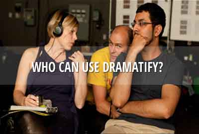 Invitation and access to Dramatify