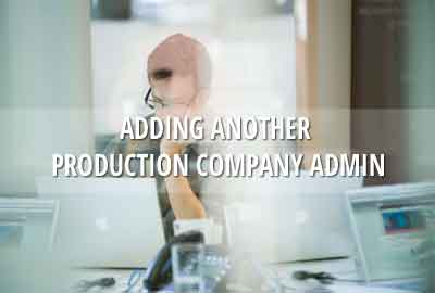 How to add another Production Company Administrator