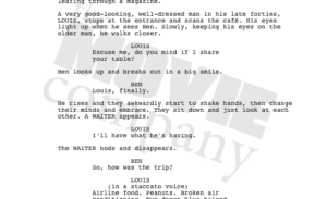 Watermarking a screenplay and drama scripts