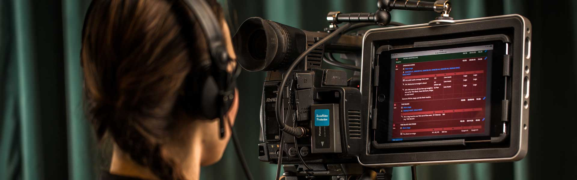 Press release: World's first smart script tool for multi-camera live & studio shows