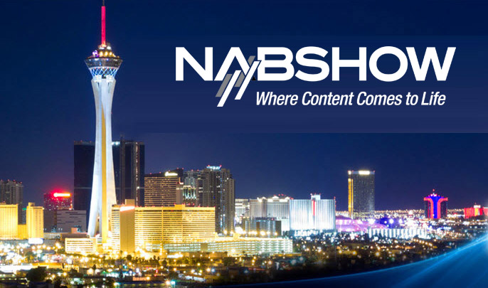Meet us at NAB Show in Las Vegas!