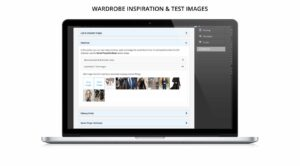 Wardrobe image management for TV, film, drama, entertainment, commercials online software for teams