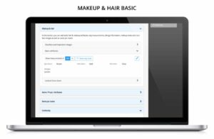 Makeup & Hair management for TV, film, drama, entertainment, commercials online software for teams