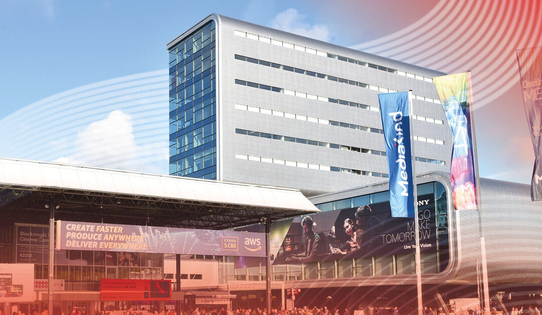 Meet us at IBC in December 2021 in Amsterdam!