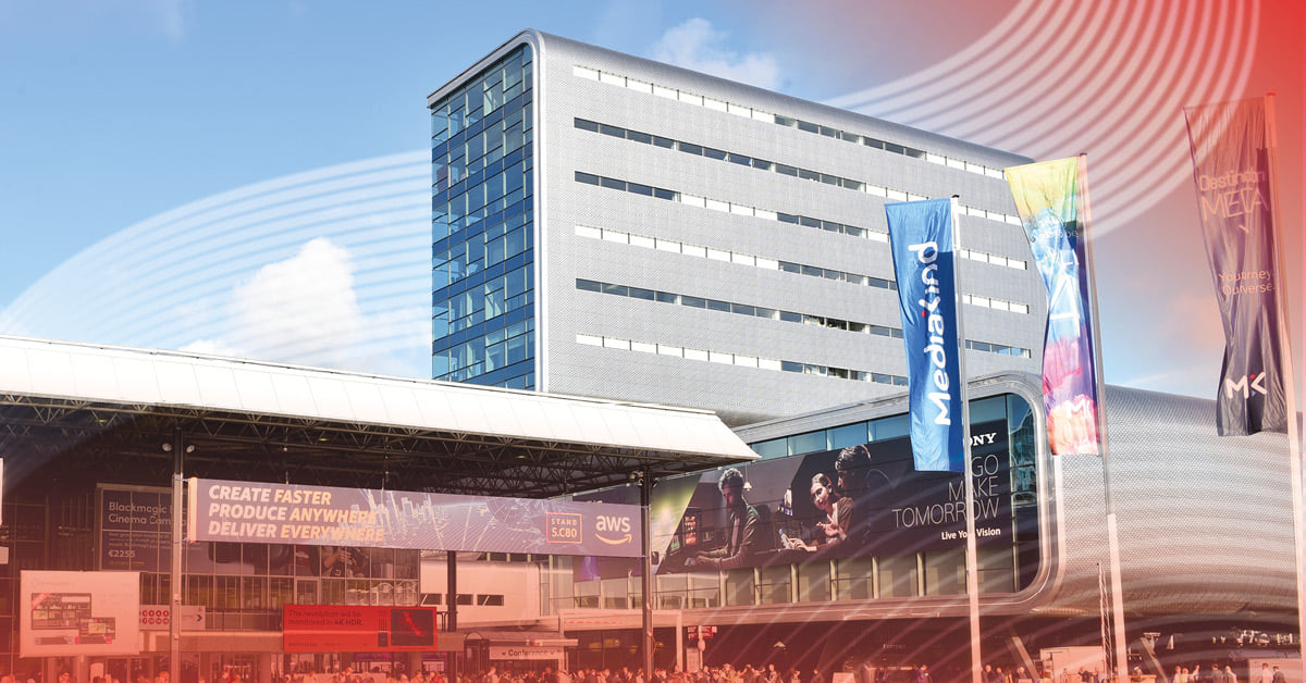 Meet us at IBC in September 2021 in Amsterdam!